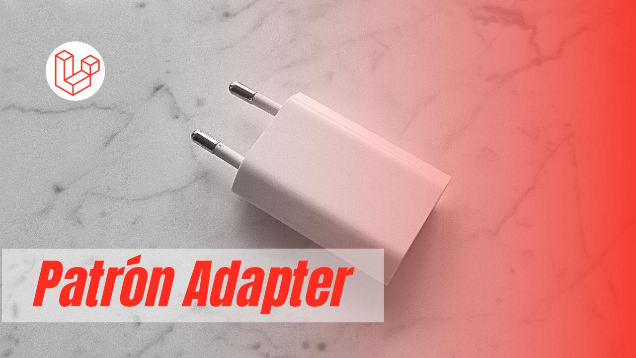 patrón de diseño adapter