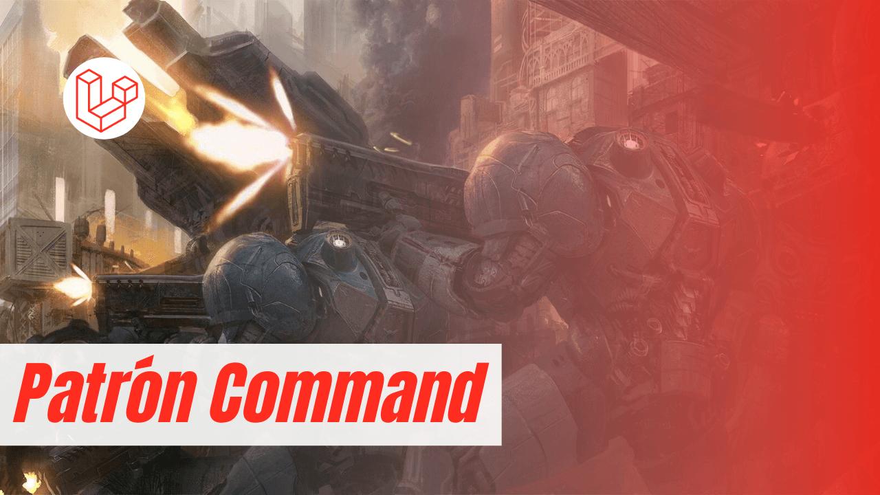 patron de diseño command